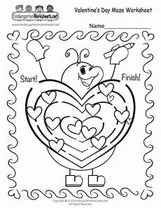free printable s day worksheets for kindergarten 20458 free printable s day maze worksheet for kindergarten