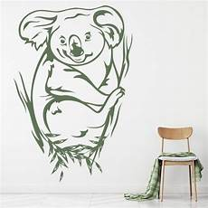 coloring pages 17619 koala wall sticker australian animals wall decal bedroom home decor