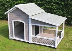 Avis Sur Niche En Bois Avec Terrasse Pour Grand Chien