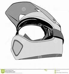 Drawing Helmet Stock Illustration Illustration Of
