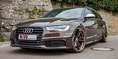 suspension tuning via iphone also for audi a6 by kw