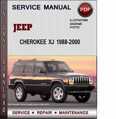 small engine repair manuals free download 1993 jeep cherokee windshield wipe control jeep cherokee xj 1988 2000 factory service repair manual download pdf tradebit