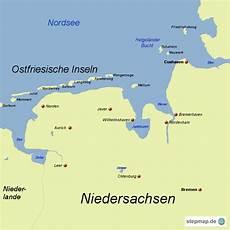 Ostfriesische Inseln Karte - ostfriesische inseln spiabene04 landkarte f 252 r