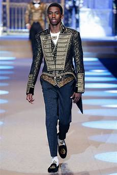 dolce gabbana debuts it s fall 2018 menswear collection at milan fashion week mens 2018