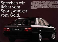 Audi 100 Die Ausstattungen