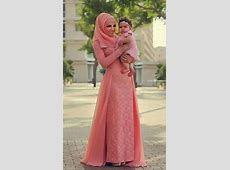 2016 Muslim Evening Dresses A line Long Sleeves Pink Lace