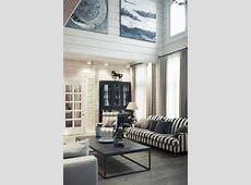 Striped sofa   Interior Design Ideas.