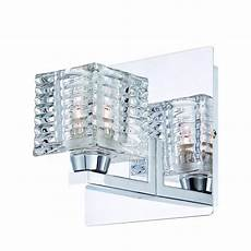 hton bay olivet 1 light chrome sconce with cube glass shade 25722 hbu the home depot