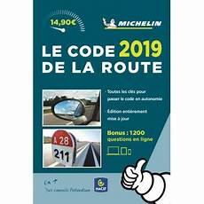 prix code de la route code de la route michelin 2019 broch 233 collectif