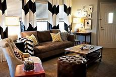 Chevron Living Room