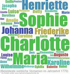 Alte Deutsche Vornamen - top 10 der namen das 18 jahrhundert namen mit geschichte