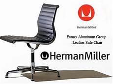 eames aluminum side office task desk chair by herman