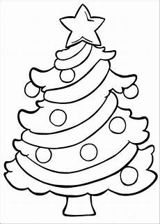 simple tree coloring pages