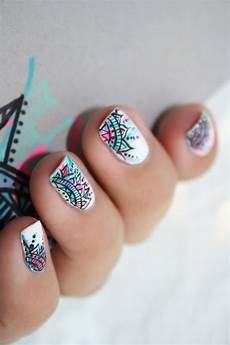 Nail D 233 T 233 D Inspiration Indienne Nails Ongles