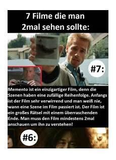 7 Filme Die Marn 2mal Sehen Sollte 7 Memento Ist Ein