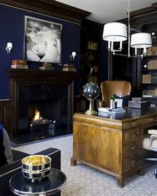 Masculine Home Office Wall Decor Ideas by 59 Stylish And Dramatic Masculine Home Offices Digsdigs