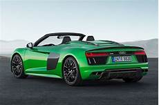 The Goes New Audi R8 Spyder V10 Plus
