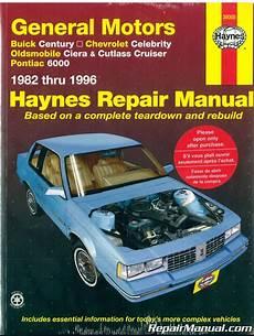 automotive service manuals 1984 pontiac 6000 regenerative braking gm buick century chevrolet celebrity oldsmobile ciera cutlass cruiser pontiac 6000 1982 1996