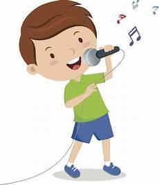Kid Singing Clipart