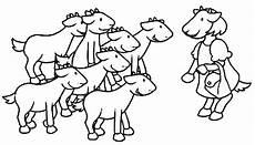 Malvorlagen Und Der Wolf Der Wolf Und Die 7 Geisslein
