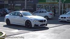bmw m4 with m performance package start acceleration