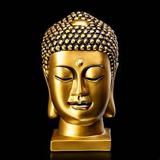 buy matte gold resin buddha sculpture in india