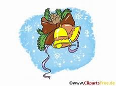 neujahr und weihnachten gloeckchen clipart bild