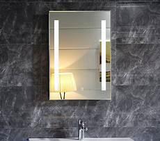 led lichtspiegel neutra 50x70 mit touch schalter