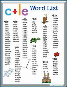teaching the consonant le syllable pattern make take