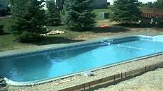 knudson 16x36 vinyl liner swimming pool youtube