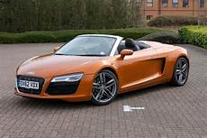 audi r8 spyder 2010 2014 running costs parkers