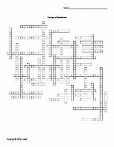 the age of absolutism vocabulary crossword for world history word search worksheets and