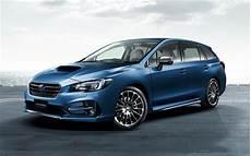Wallpapers Subaru Levorg 2017 Wagon Blue