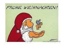 frohe weihnachten loriot weihnachts postkarte loriot