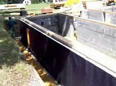etancheite mur en etanch 233 it 233 des murs contre terre