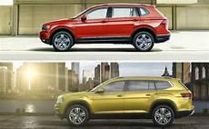 2018 Volkswagen Tiguan Allspace Vs 2018 Volkswagen Atlas