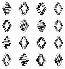 Logo For Renault By Victor Vasarely 1972 Renault