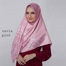 Jilbab Segi Empat Zoya Terbaru 2019 Voal Motif