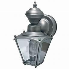 heath zenith 150 degree silver mini coach lantern with clear beveled glass hz 4131 sc the home