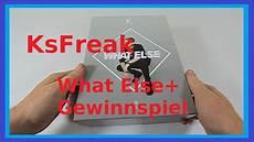 Neue Gewinnspiele 51 - ksfreak what else ltd box unboxing gewinnspiel