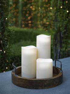 candele led led candles flamless led candles with timer outdoor