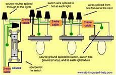 one light one switch wiring diagram light switch wiring diagrams do it yourself help com