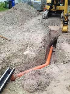 entwässerungsrinne selber bauen entw 228 sserungsrinne angeschlo 223 en an die revisionsschacht