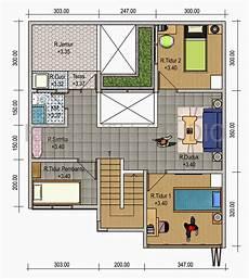 Gambar Denah Rumah Minimalis Modern Model Desain Rumah