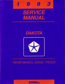 car engine manuals 1993 dodge dakota club user handbook 1993 dodge dakota truck shop service repair manual engine drivetrain electrical ebay