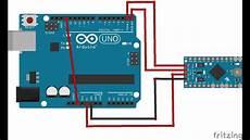 how to program arduino pro mini with arduino uno soldered