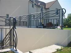 garde corps en fer forg 233 balcon terrasse modernes mod 232 le