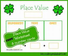 free christmas tree place value worksheet and more blessed beyond a doubt