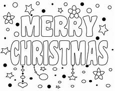 printable merry christmas coloring pages for kids adults and mom 2019
