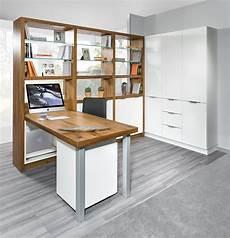Regalwand Mit Integriertem Schreibtisch Aiorce